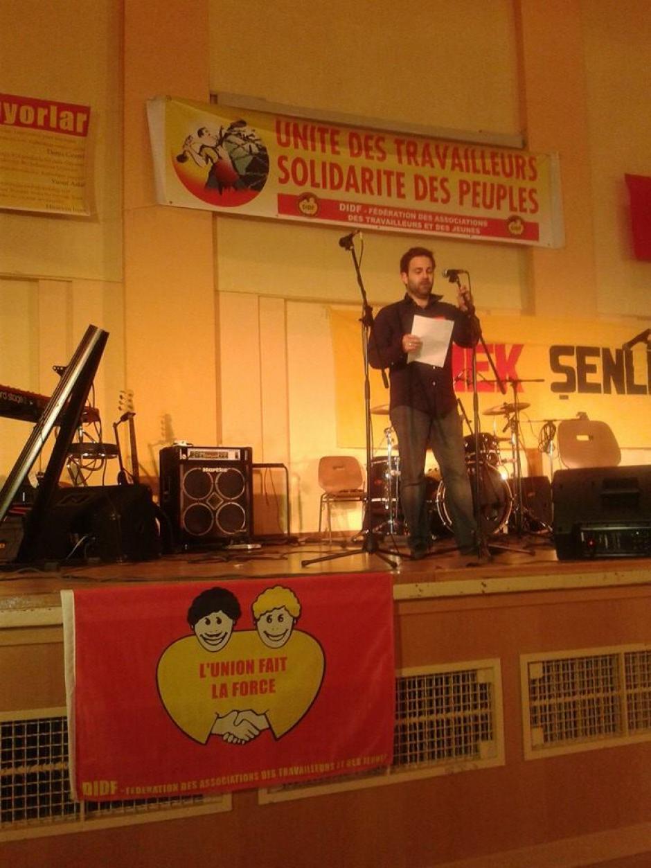 Le PCF en campagne pour les européennes : l'intervention de Julien au cours de la soirée de Didf