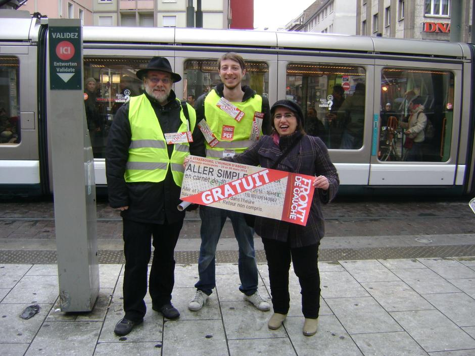 Semaines actives pour les communistes Strasbourgeois et Schilickois !