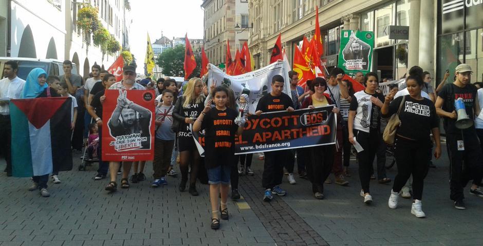 Manifestation de solidarité avec la Palestine ! Maintenons la pression !