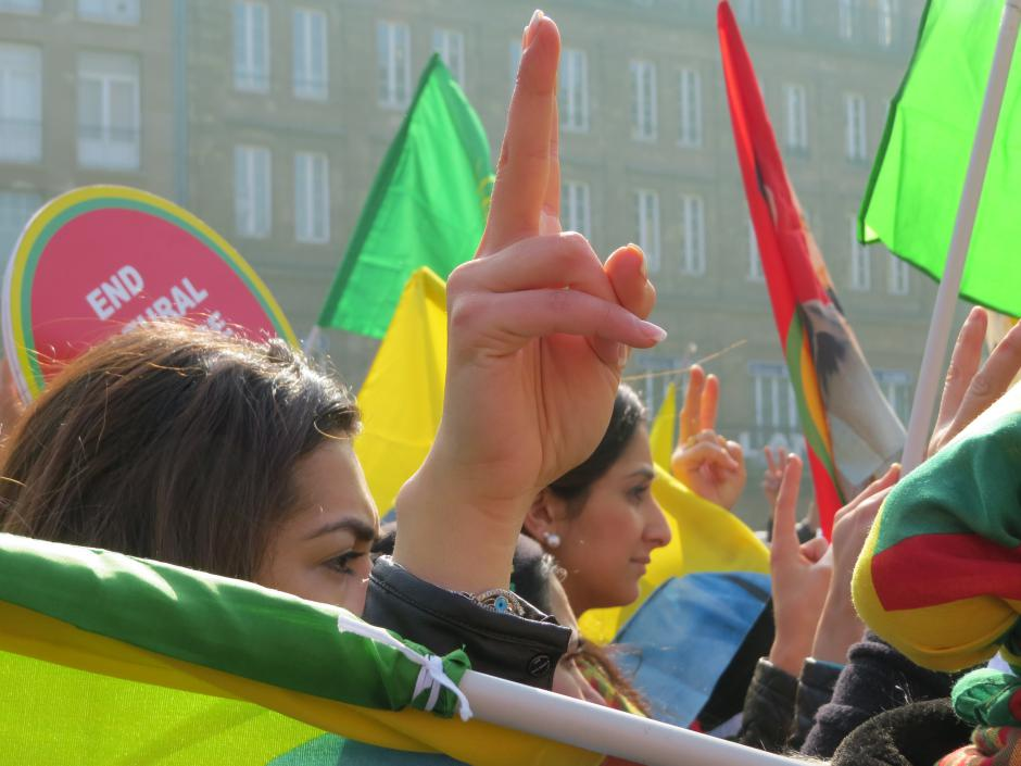 Manifestation à Strasbourg