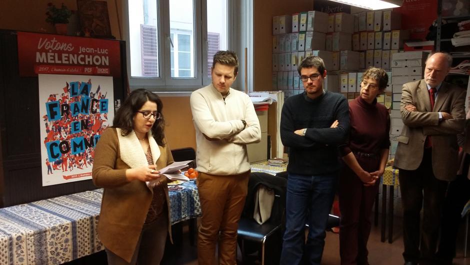Courrier d'Hülliya TURAN aux groupes d'appui de la France Insoumise du Bas-Rhin : Le rassemblement ça Urge !