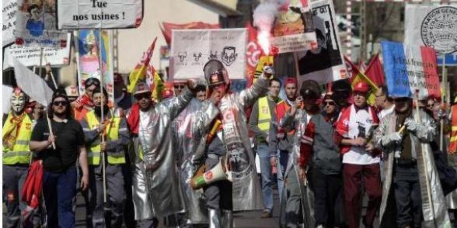 Sidérurgistes, pas voyous : Solidarité du PCF 67 !