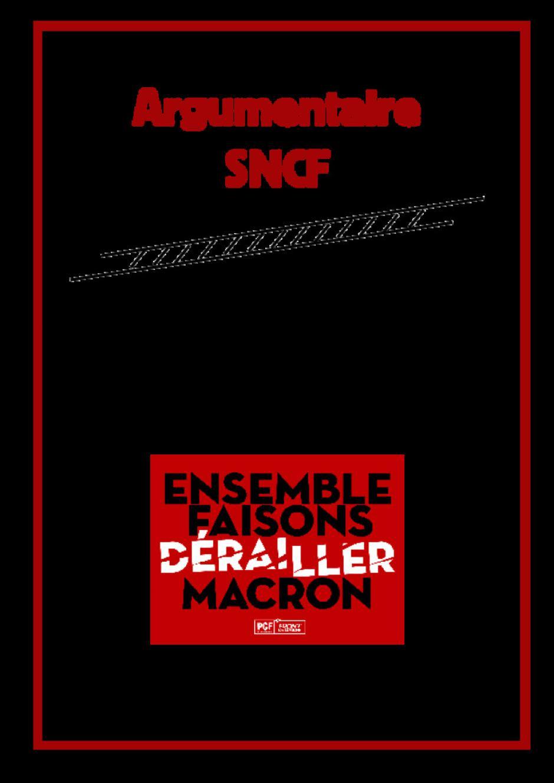 Campagne nationale sur la réforme de la SNCF et des transports ferroviaires