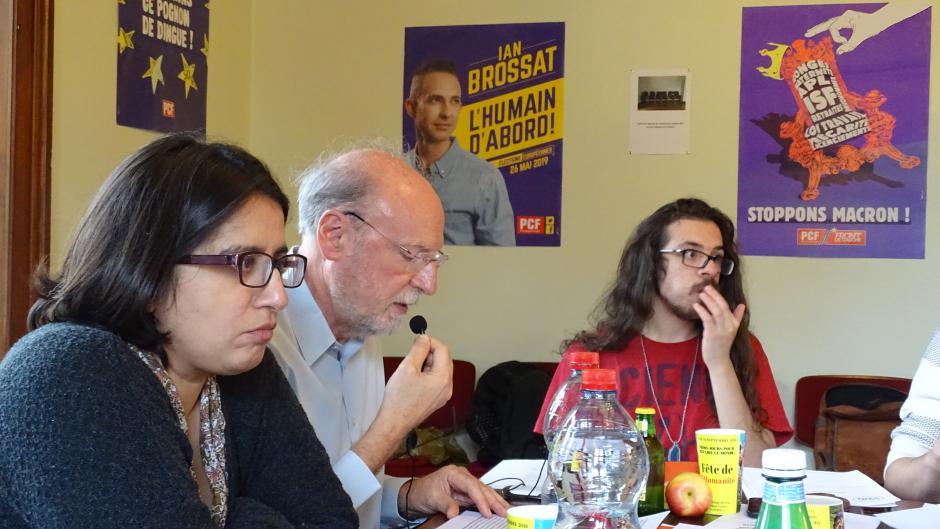 Congrès départemental du PCF Bas-Rhin