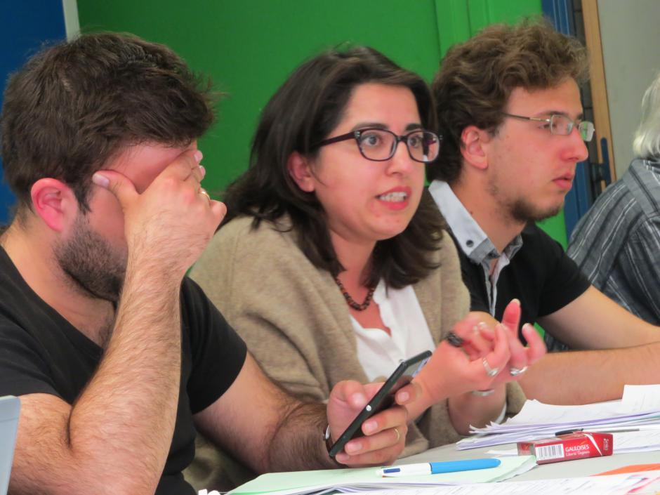 Hülliya TURAN élue secrétaire départementale du PCF 67