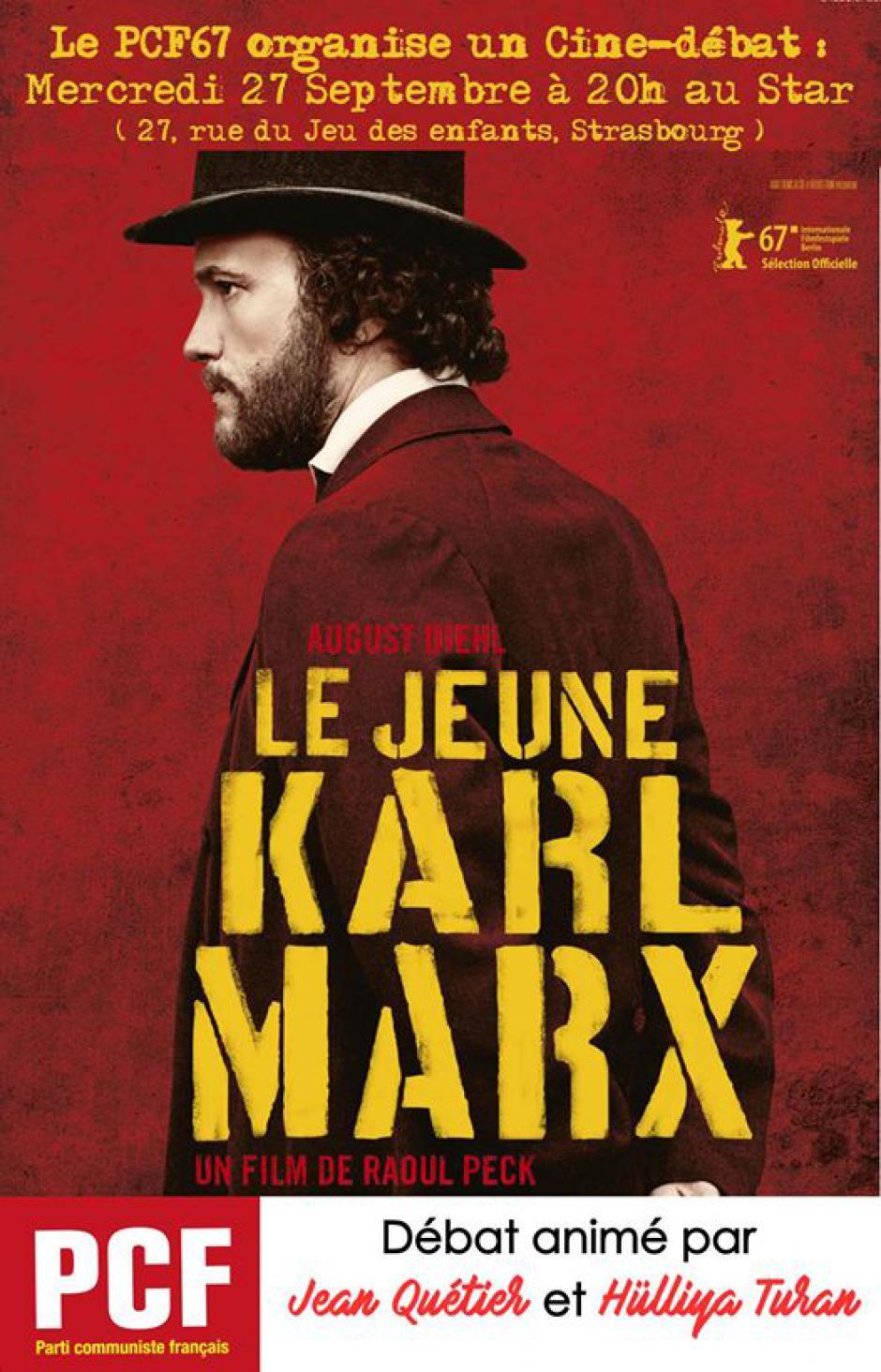 LE JEUNE KARL MARX : LE PCF ET LE CINEMA STAR VOUS INVITE
