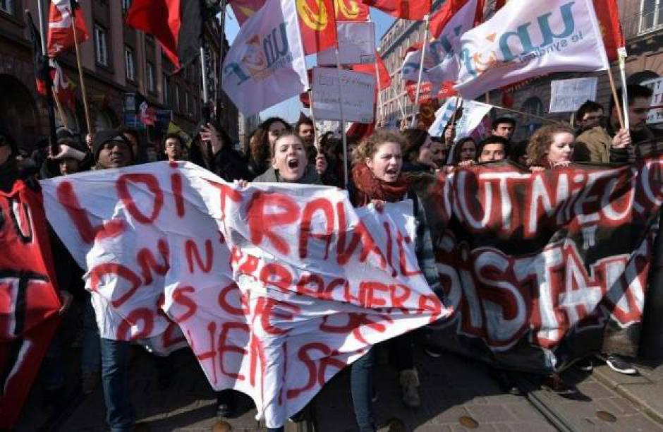 A Strasbourg comme partout en France, violences policières contre nos jeunes camarades