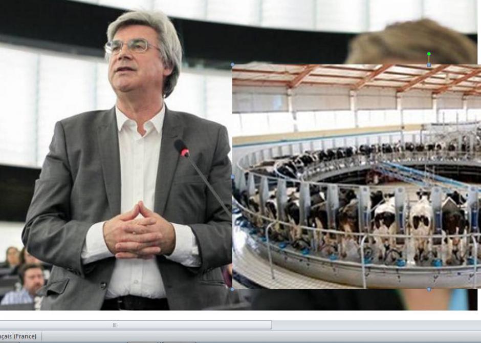 Ferme des 1200 taurillons : Patrick Le Hyaric député Front de Gauche, interpelle le Parlement Européen