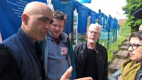 Soutien aux salariés en grève de l'usine Federal Mogul de Schirmeck